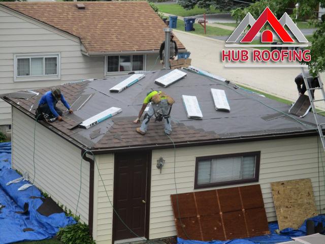 Residential Roof Repair 4
